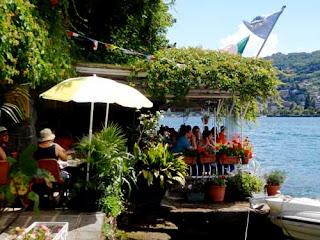 Restaurant Isola Bella Lake Maggiore Italy