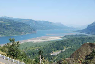 Columbia River Gorge Washington USA