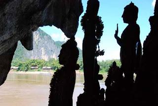 Buddha Statures Pak Ou Caves Luang Prabang Laos