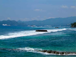 Candi Dasa Beach Bali Indonesia