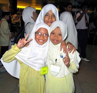 Malyasian School Children Kuala Lumpur Malaysia