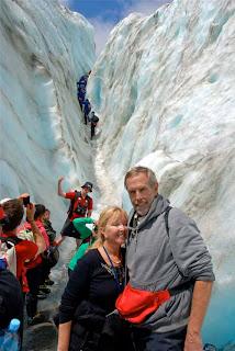 Pat Wayne Dunlap Climbing Franz Josef Gacier New Zealand