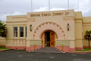 Art Deco National Tobacco Company Building Napier New Zealand