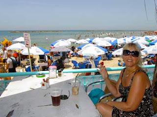 Pat Dunlap Beach Tel Aviv Israel