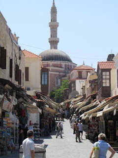 Socratous Street Mosque of Suleyman Rhodes Greece