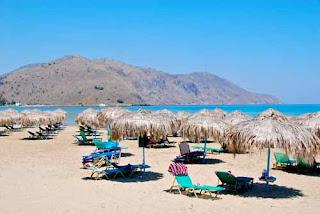 Paradise Beach Georgioupoli Crete Greece