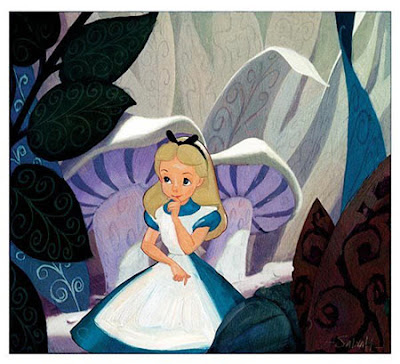 Alice in Wonderland cartoon Disney