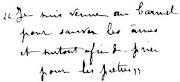 Manuscrito de S. Teresinha