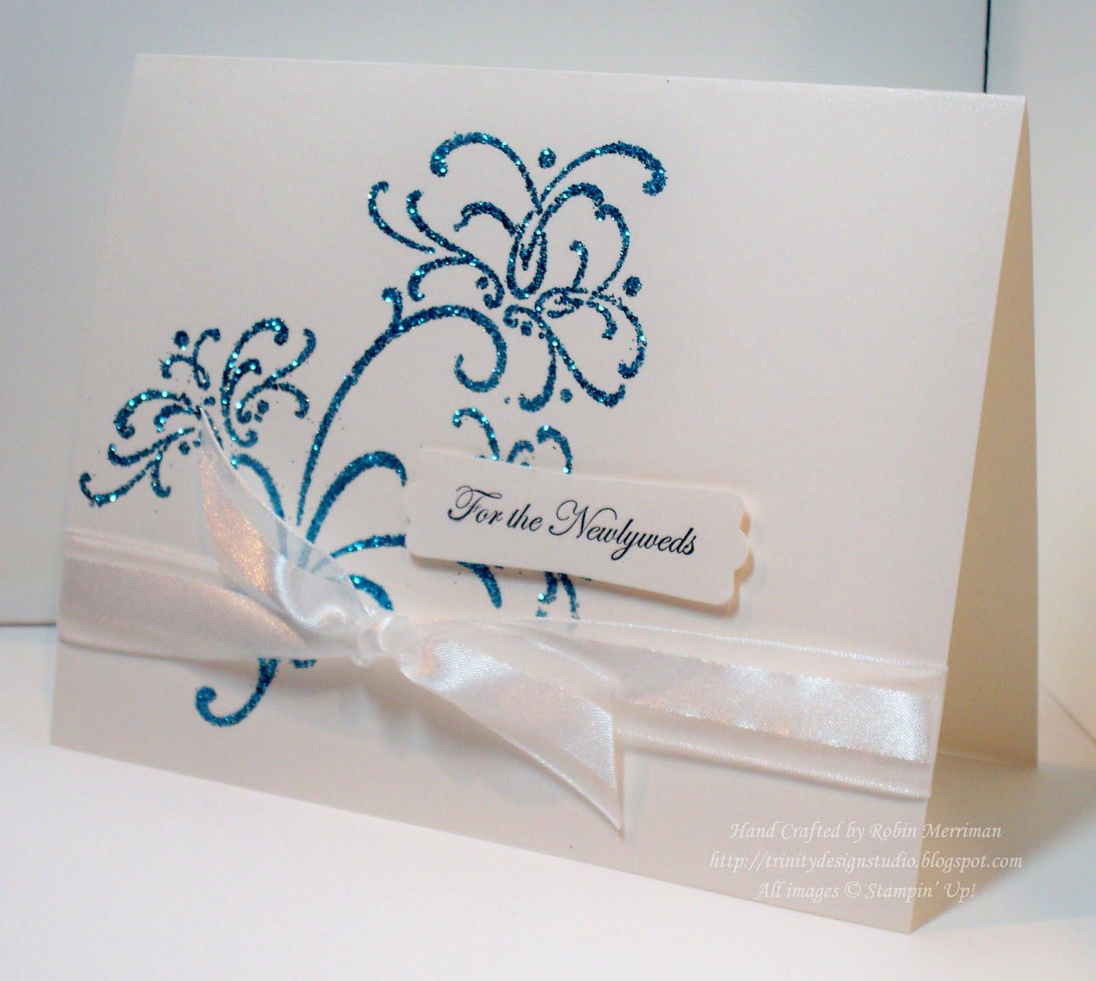 trinity designs elegant wedding card