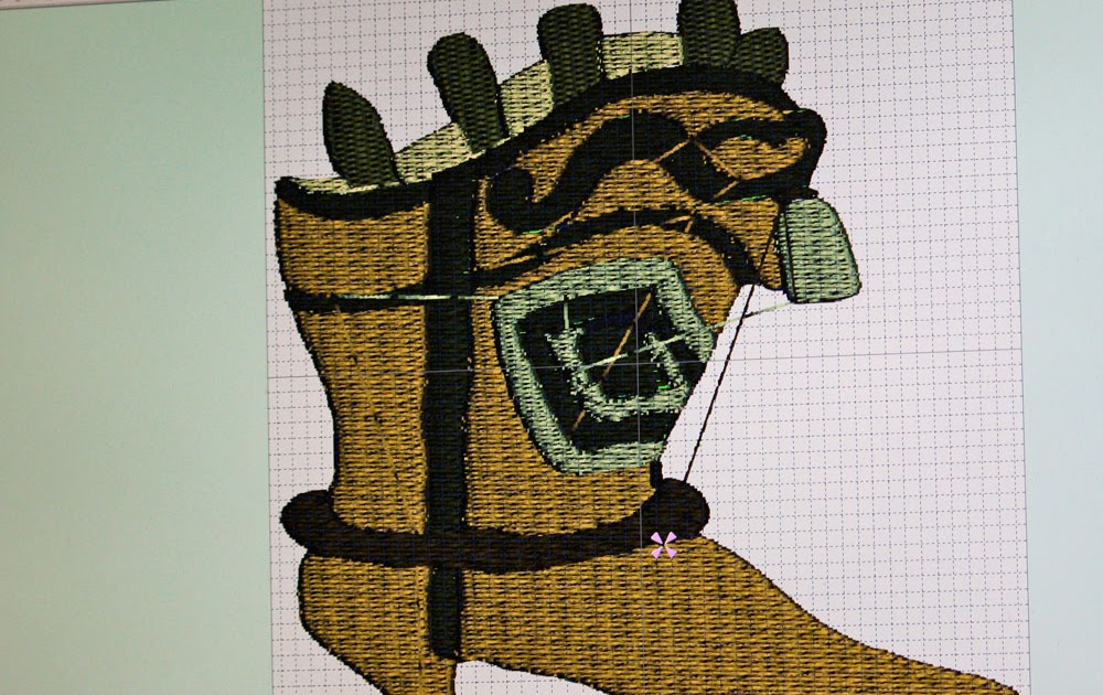 Machine Embroidery Design Of Peanut And The Gang