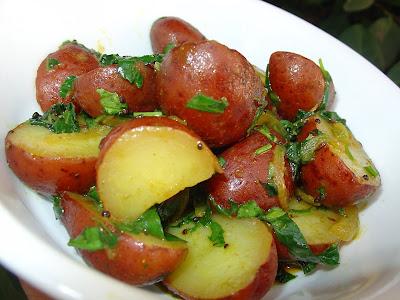 A batata só é comida em processo....