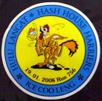 Ice Cooleng's Run 757 Car Sticker