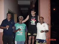 Long John, Rocky, Dipstick and Karu