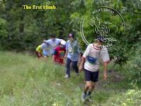1st hill climb