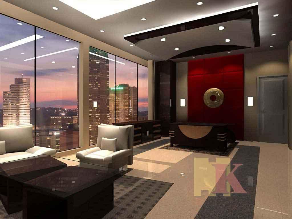 Contoh Gambar Tata Ruang Kantor Berpanorama 2021