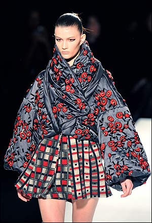 Kenzo's flowers blossom under the green thumb of Antonio Marras.