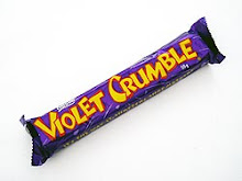 WHATS THIS?  VIOLET CRUMBLE ...