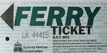 FERRY TICKET TO MANLY ...