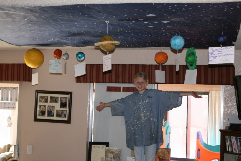 solar system on ceiling paint - photo #5