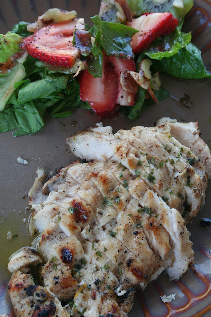 Grilled Orange Tarragon Chicken for a light but totally flavorful dinner.