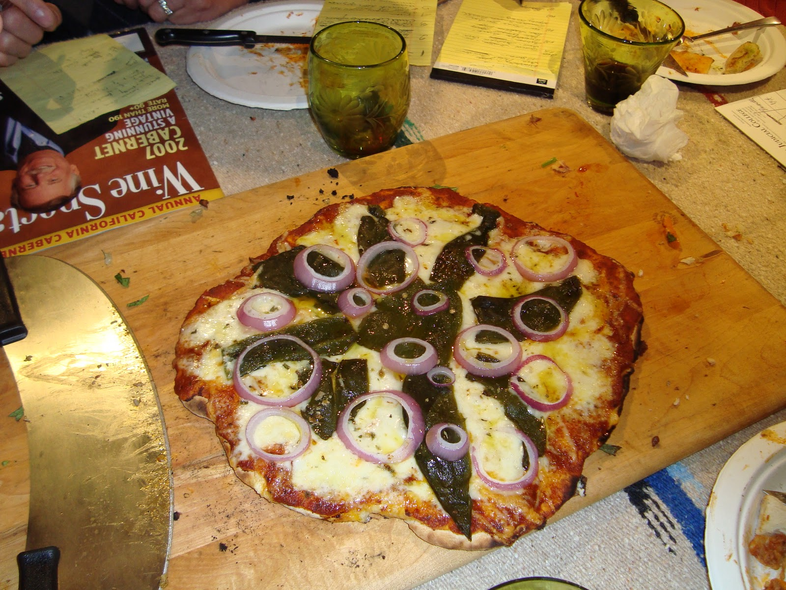 California Pizza Kitchen Chile Relleno