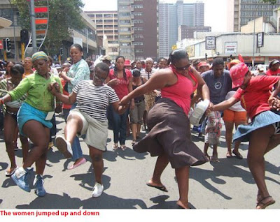 Siasa Duni: The South African miniskirt march (not to be confused