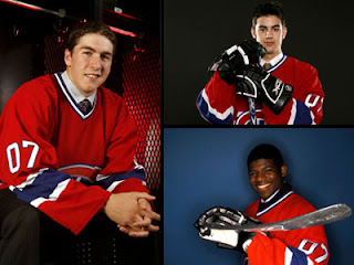 Habs stockpile prospects at '07 Draft