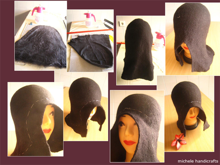 4b23b7db33081 Michele handicrafts  ...chapéu de feltro