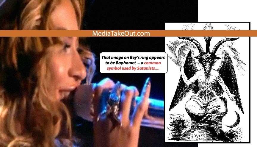 Beyonce bamophet ring