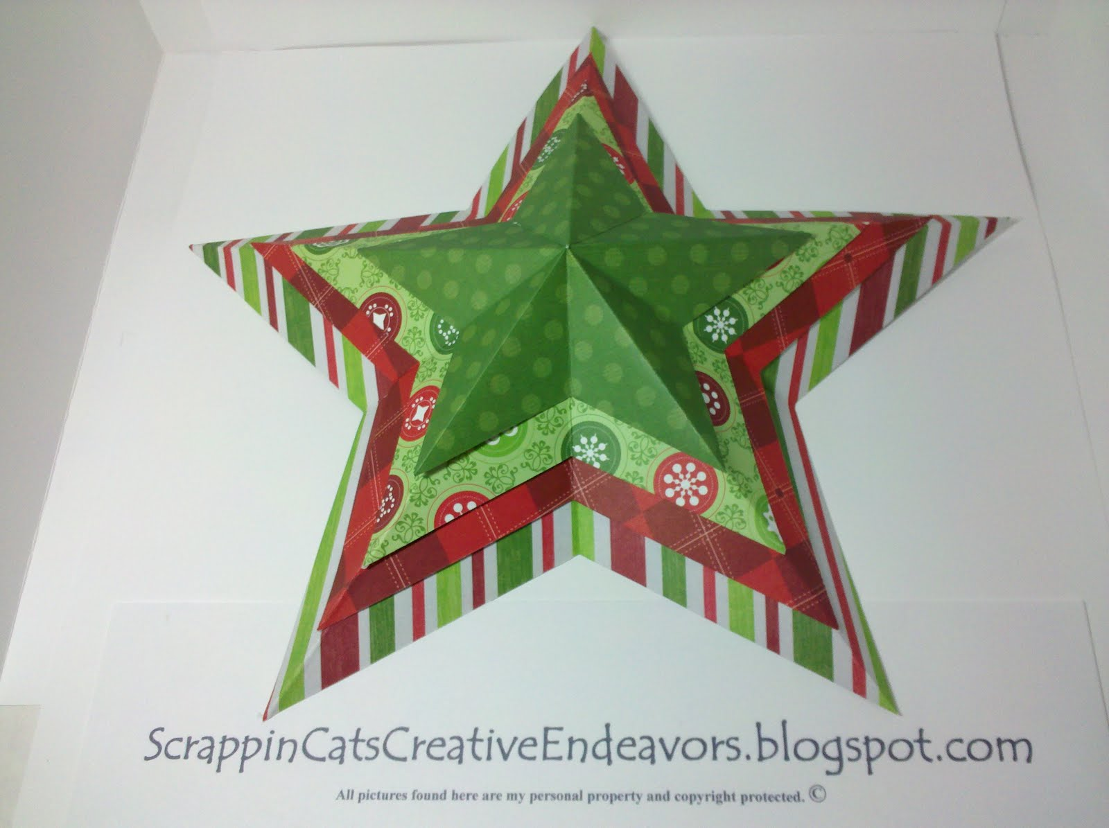Welcome to Scrappin' Cat's Creative Endeavors: Origami ... - photo#43