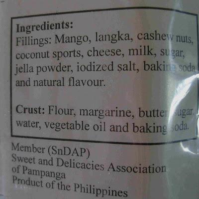 fruit tarts ingredients