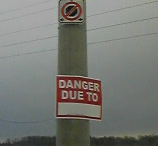 danger due to