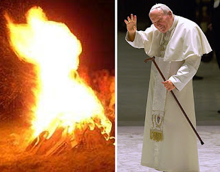pope fire