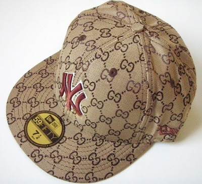 New Era 59Fifty Brown Gucci Fitted Hat size 7 1 4----SOLD ON WWW.IOFFER.COM 5d2b34f3fd1
