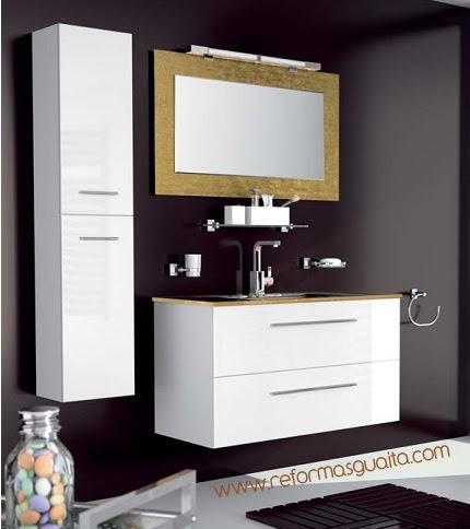 cheap muebles de bao con lavabo de cristal encimera lavabo de cristal dorado reformas guaita with muebles de bao de cristal