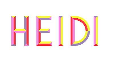 Roman Koeller Illustration: multicolor font