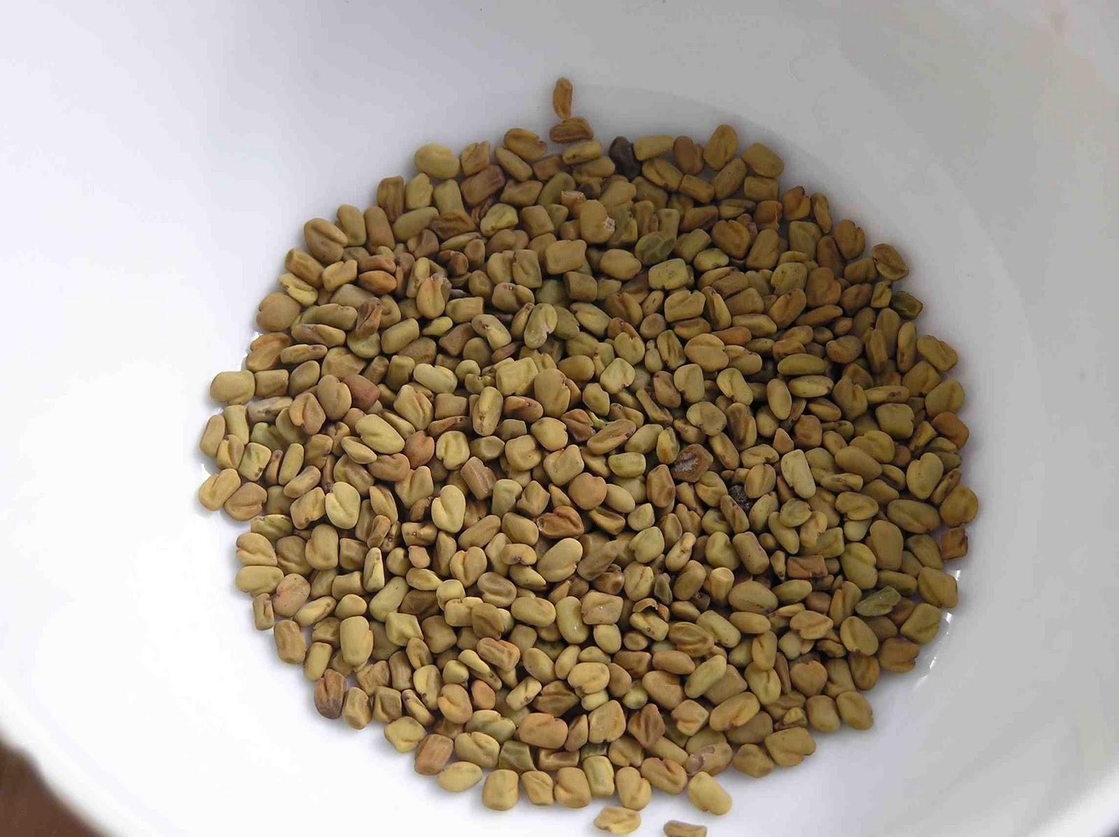 herbal teas and tonics: Fenugreek tea