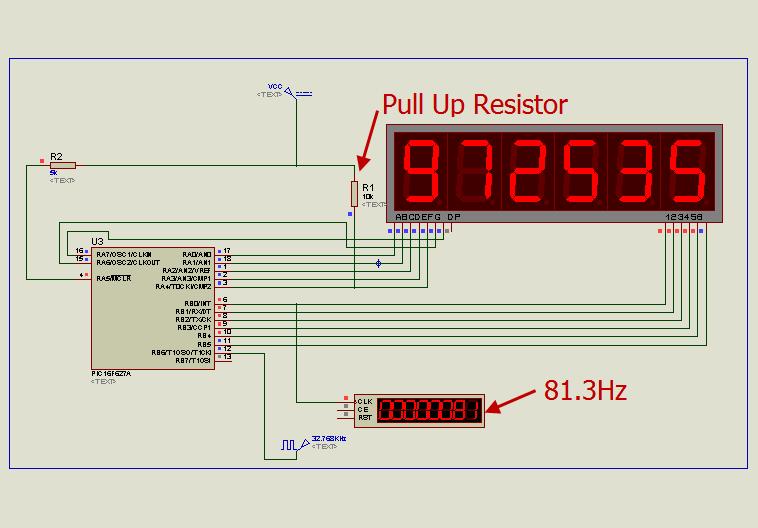 6 Digits LED 7-Segment Multiplexing