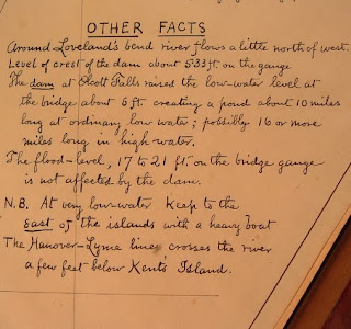 "A handwritten list of ""Other Facts."""