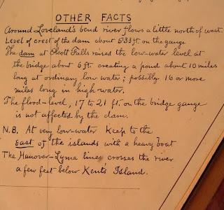 "A handwritten list of ""Other Facts."""