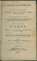 "The title-page for ""American Cookery."""