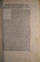 A page of printed text with space left in the margins and for a large initial which has not been added.