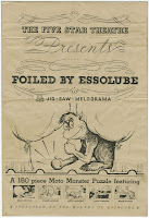 "The title page for ""Foiled by Essolube."""