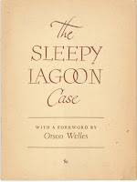 "A title page for ""The Sleepy Lagoon Case."""