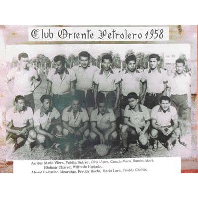 Club Oriente Petrolero 1958