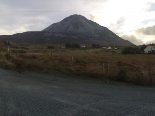 Tango and Cash on Errigal