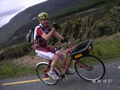 Wicklow 200 on the post bike