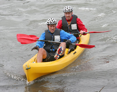 Kilbroney Challenge kayaking