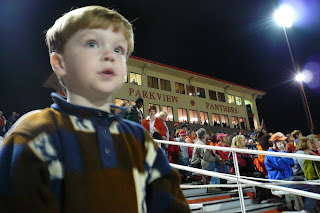 Garrett at Parkview/Brookwood game