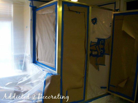 Painted Bathroom Faucets Amp Shower Enclosure